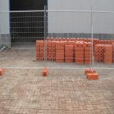 Загородка строительной площадки, панель Австралии временно ограждая