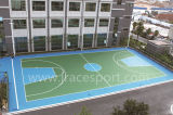 高性能紫外線抵抗のテニスコートのフロアーリング