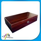 Роскошная таможня отлакировала коробку коробки упаковки вахт деревянную
