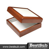 Sublimatableの陶磁器のタイルを張られた木の宝石箱(SPH44BR)