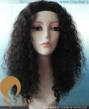Parrucca piena dei capelli umani di Remy del merletto di modo per la donna