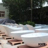 De moderne Acryl Stevige Ton van het Bad van de Oppervlakte Corian Freestanding