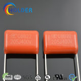 Condensador metalizado de la película de Ploypropylene (CBB22 CBB22 205/400) para la aplicación eléctrica
