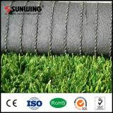 Niedrige Kosten 50mm PET synthetische künstliche Gras-Matte für Fußball-Spielplatz