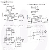 Coupleur de photo de composante électronique à grande vitesse de porte logique