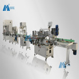 두 배 Bag Liquid Filling 및 Press Capping Packing Machine