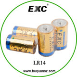 Caliente de la venta 1.5V LR14 C Pilas alcalinas super pila seca