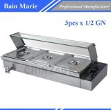 De Apparatuur van het restaurant Elektrische Bain Marie rtc-3h
