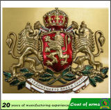 Coat reale di Arms/Metal BRITANNICO Royal 3D Emblem