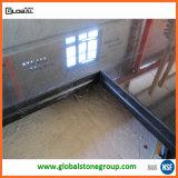 Partie supérieure du comptoir noire absolue de granit de la Chine pour le projet résidentiel