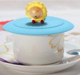 コーヒー・マグのための耐熱性3D柔らかいシリコーンのコップカバー