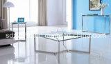 명확한 성미 유리제 커피용 탁자 현대 가정 가구