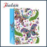 Мешок одежд бабочки естественной серии цветастый напечатанный 4c розничный бумажный