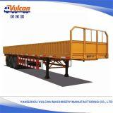 Directe Verkoop 3 van de fabriek Aanhangwagens van het Nut van de Kipper van Assen de Hydraulische Flatbed