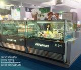 Italienischer Gelato Eiscreme-Schaukasten/Eiscreme-Gefriermaschinen