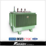 3段階のCopper Winding Oil ImmersedのステップTransformer 315 KVA