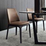 حديثة فندق أثاث لازم [دين تبل شير] [بو] مقادة رماد [سليد ووود] ساق يتعشّى كرسي تثبيت