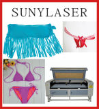 Cortador do laser do Swimwear 80With100With120W Suny 1280t do biquini