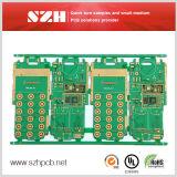 Placa de circuito da exposição do diodo emissor de luz LCD da eletrônica