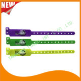 Kundenspezifische Unterhaltungs-Vinylplastik-Identifikationwristband-Armband-Bänder (E6060B42)