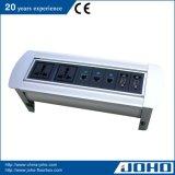 De Tik van het aluminium op Contactdoos van de Desktop van het Type van Contactdoos van de Lijst van het Type de Roterende Elektrische