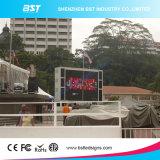 Gran televisor LED de la cartelera al aire libre de