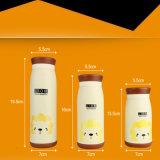 taza portable del Thermos del acero inoxidable 260ml de la taza animal linda del vacío para el bebé