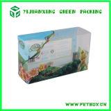 Caixa de presente de empacotamento popular do PVC do plástico