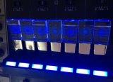 USB de cristal da movimentação da pena do logotipo feito sob encomenda com luz do diodo emissor de luz
