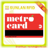 Quality superior Custom RFID Bus/Metro/metro Card com Mf 1k S50/4k S70 /Ultralight Chip para Transportation/Payment/Ticketing (Golden Professional Manufacturer)