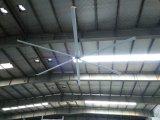 Ventilateur industriel diversifié à C.A. du seul de ventilateur de couverture de moteur modèle aérodynamique 7.2m (24FT) de pale