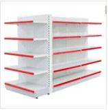 StahlDisplay Shelf für Supermarket Plain Back Panel