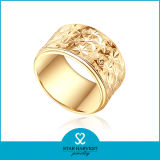 Ring van de Mensen van Doubai de Goud Geplateerde voor Huwelijk (sh-0438R)