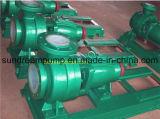 Ihf Pompe centrifuge en ligne PTFE horizontale, pompe à transfert d'acide