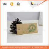 Hangt de Hete Verkoop Kraftpapier van het Ontwerp van de Douane van de Prijs van de fabriek Markering