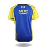 Camisa do Raglan T da promoção da V-Garganta do volume da fábrica da camisa de China T