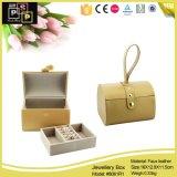 Boîte de bijoux en cuir de vente chaude de mode (8061)