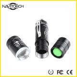 Equisite und kleine wasserdichte kampierende Aluminium-LED-Fackel (NK-6620)
