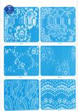 De katoenen Stof van het Kant voor Kleding/Kledingstuk/Schoenen/Zak/Geval M238 (Breedte: 8cm)