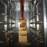 Linha de pintura do pulverizador e máquina de revestimento eletrostáticas novas do pó