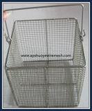 Cesta de alambre de acero inoxidable de Medicial para Laboratory Esterilizador