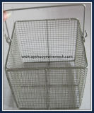 Laboratory&#160のためのMedicialのステンレス鋼ワイヤーバスケット; 滅菌装置