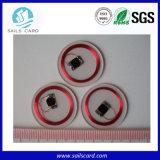투명한 PVC RFID Keytag