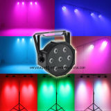 7 stukken 10W van RGBW 4 in 1 Disco Event PAR Light van Mini LED