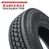 Superhawk Marvemax 11r22.5, 295/80r22.5 pneumático, pneumático do caminhão da movimentação, pneumático radial do caminhão