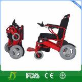 Fabricant pliable sans brosse de fauteuil roulant de courant électrique