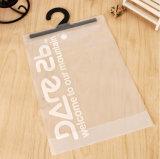 Sac transparent imperméable à l'eau d'emballage de sac de PVC de crochet de vêtement (TP-OB054)