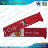 中国の工場卸売のカスタム安いフットボールのファンのスカーフ(M-NF19F10010)