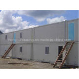 China pré-fabricou a casa modular do recipiente de Panelized da casa