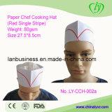 Chapeau de papier remplaçable de fourrage (rouge choisir la bande)
